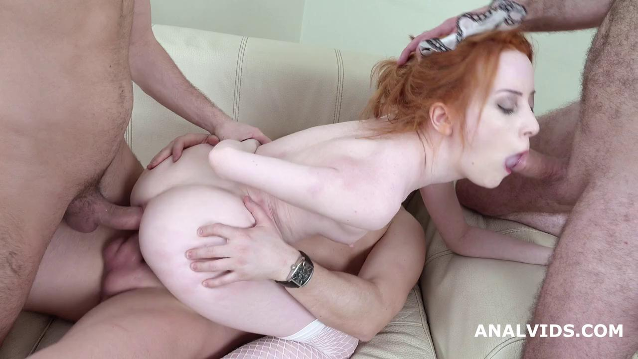 LegalPorno – Lottie Magne – 3on1 Balls Deep Anal and DP