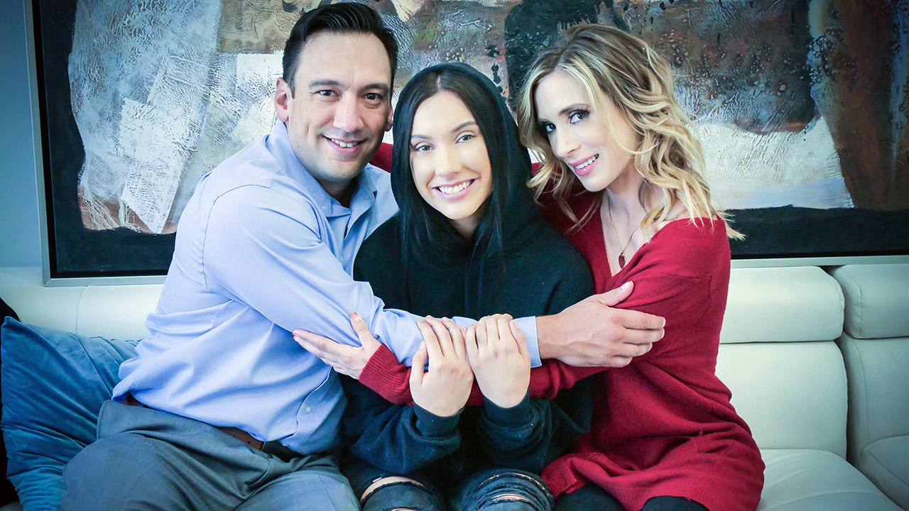 Aiden Ashley And Jasmin Luv – Foster Daughter Accepts Affection