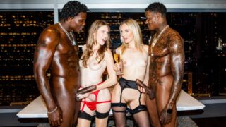 BlackedRaw – Ashley Lane And Mona Wales – Girls Night