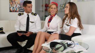 Cherie DeVille & Dani Daniels – Dirty Daniels Cum Fly With Me