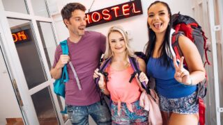 Fakehostel – Sofia Lee, Lily Joy – Between a Blonde and Brunette