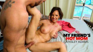 MyFriendsHotMom – Ainsley Adams – Hot Milf Ainsley Adams Fucks A Young Cock
