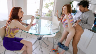 Freeusefantasy – Aria Carson and Madi Collins – Free Weights Training