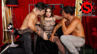 SexMex – Sara Blonde – Threesome With Fans