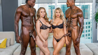 Blacked – Kylie Page & Lena Paul – Best Friends For Ever